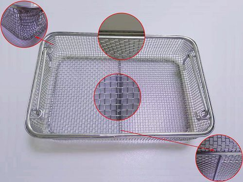 SS Cleaning Sterilized Basket