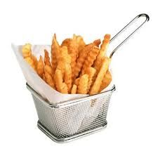 Fry Basket Helps Frying and Serving